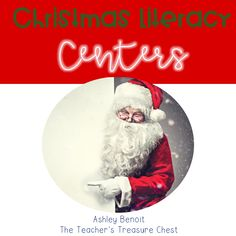 Christmas Literacy Centers for Kindergarten and First Grade