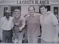 Luigui Texidor, Marvin Santiago, Paquito Guzmán & Lalo Rodríguez.