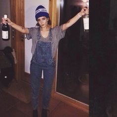 Clothes of Halsey Lilac Sky, Role Models, Overalls, Celebs, Female, My Style, How To Wear, Clothes, Outfits