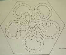 quilt stencil patterns   quilting design tools for marking your quilting design choice of ...
