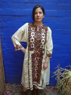 Hand Embroidered Balochi / Afghani Dress
