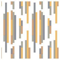 Tempaper Self-Adhesive Removable Wallpaper Bars - Yellow and Grey