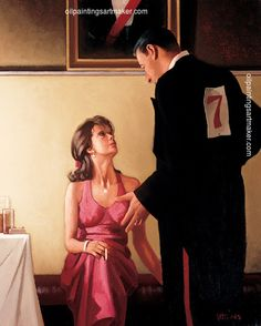 Jack Vettriano Defending Champions art painting sale, painting - $3,000.00 Authorized official website