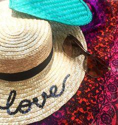 78c357c3 Live Laugh Love Custom Wide Brim Natural Straw Boater Hat | Etsy Boater Hat,  Custom