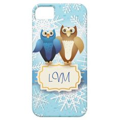 Owls in love, iPhone 5 #cover by PinkHurricane