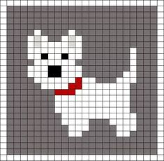 Little Scottie dog pattern chart, great for making crochet corner to corner . : Little Scottie dog pattern chart, great for making crochet corner to corner blanket, or afgan. This could be used as a Graphgan pattern: Cross Stitch Cards, Cross Stitch Animals, Cross Stitching, Cross Stitch Embroidery, Embroidery Patterns, Knitting Charts, Baby Knitting Patterns, Knitting Stitches, Needlepoint Stitches