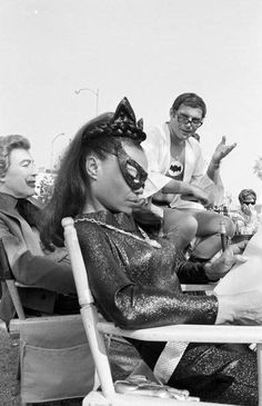 On the set of Batman, 1967