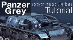 Tutorial  - Panzer Grey color modulation
