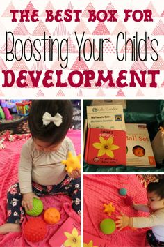 The Best Box for Boosting Your Child's Development -What are your favorite child development activities? #childdevelopment #kids #babies #kidsactivities #preschoollearning #learning #toddlers #motorskills #subscriptionbox #subscribe