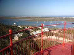 View from the top of the St. Augustine Lighthouse on a beautiful day!
