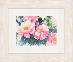 Beautiful Roses - Cross Stitch Kit