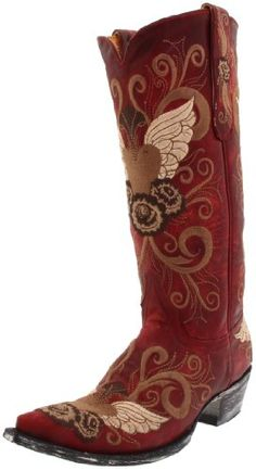 Old Gringo Womens Grace Boot L6393Red85 M US ** Visit the image link more details.(This is an Amazon affiliate link and I receive a commission for the sales)