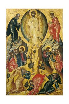 Giclee Print: The Transfiguration of Jesus, Mid of C : Fine Art Prints, Framed Prints, Canvas Prints, Saint Catherine's Monastery, Transfiguration Of Jesus, Web Gallery Of Art, Religious Paintings, Byzantine Art, European Paintings