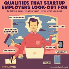 #Startup #Employees #qualities   Visit: http://www.startupjobs.asia now!