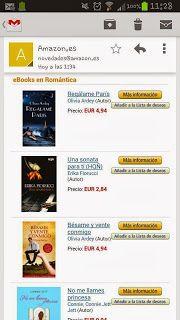 BÉSAME Y VENTE CONMIGO y REGÁLAME PARÍS, ebooks recomendados en Amazon