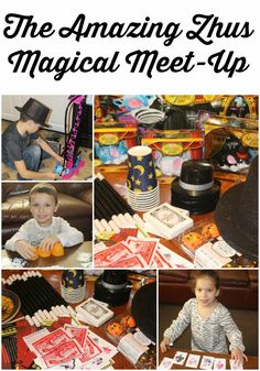 The Amazing Zhus Magical Meet-Up ~ #TheAmazingZhus #MommyParties #ad