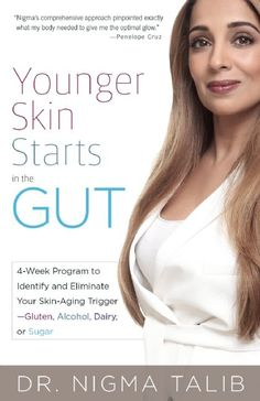 Nigma Talib, ND, a London-based naturopathic doctor, aesthetician and author of the forthcoming Younger Skin Starts in the Gut: A 4-Week Program to Identify and Eliminate Your Skin-Aging Trigger—Gluten, Alcohol, Dairy or Sugar believes these foods wreak havoc on our faces in different ways, along with