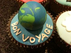 travel theme cupcakes | scrumptious homemade: travel themed cupcakes