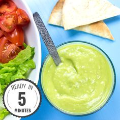 Dress any salad to impress with this incredible avocado salad dressing. It's tangy, tasty and ridiculously nutritious. Salad and side ideas included.