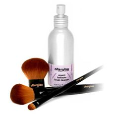 Delight Gluten-Free Beauty Faves: Afterglow Organics Infused Lavender Brush Cleanser