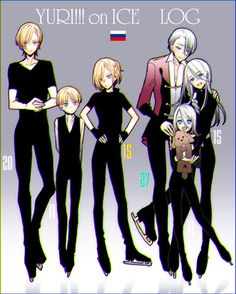 YOIログ2 Yuri Plisetsky - Yuri On Ice - YuriO