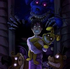 HELL YA! I'M SO DAMN READY FOR FNAF 4!!!<<i am NOT!btw i love this fanart<<i am ready but i might have nightmares xD