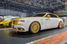 2016 Rolls Royce Wraith Palm Edition 999 от ателье Mansory  #2016MY #Mansory #Rolls_Royce #tuning #Wraith #Segment_S #British_brands #Geneva_2016