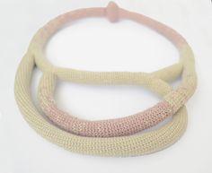 Crochet necklace - Midnight | pratinart