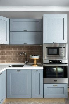 Kitchen Ideas Color Blue Cupboards 47 Ideas For 2019 Kitchen Decor, Kitchen Inspirations, New Kitchen, Kitchen Interior, Home Kitchens, Elegant Kitchens, Kitchen Remodel, Copper Kitchen Decor, Kitchen Dining Room