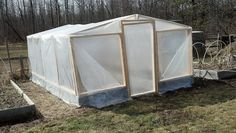 How to make a greenhouse out of your raised beds, I'm also going to put the chickens in there for a couple weeks to get the beds ready for me