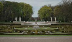 Garden at Nordkirchen Castle in Germany.