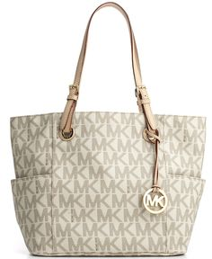 MICHAEL Michael Kors Signature Tote - Handbags & Accessories - Macy's