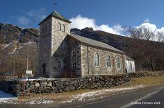 Steigen church, built in 1869, Norway