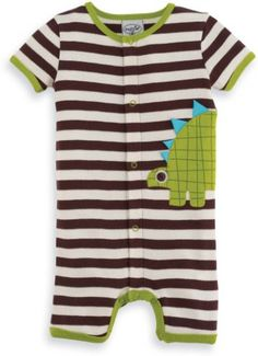 Boys Dinosaur Romper Matching Socks Available Too!