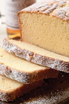 This is the BEST PoundCake! It's an easy homemade pound cake recipe you'll love. You won't believe how simple this pound cake loaf is to make. There's one secret ingredient to make it rich and moist. Cupcakes, Cupcake Cakes, Halloween Desserts, Just Desserts, Dessert Recipes, Dinner Recipes, Pound Cake Recipes, Pound Cakes, Cake Candy