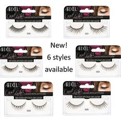 4a275b58bbc Create the ultimate lash illusion with the new Ardell Corset Lashes.  Available in six styles