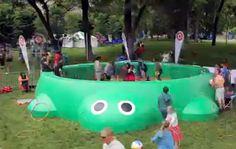 Giant Little Tikes Turtle Sandbox -Chicago - Target Campaign