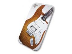 Grover Allman iPhone 4 Cover with SG Electric Guitar in Cherry finish graphic.