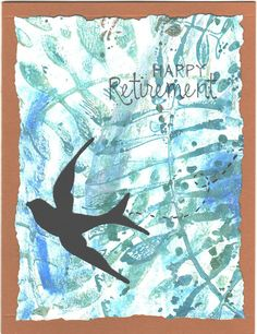 Retirement Card by cargren on Etsy, $5.00