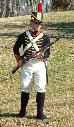 1812 US Marine enlisted uniform Us Marines Uniform, Marine Corps Uniforms, Marine Corps History, Us Marine Corps, Army Uniform, Military History, Military Uniforms, Navy Uniforms, American Uniform