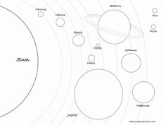 Solar System Coloring Pages . 30 Elegant solar System Coloring Pages . Space Coloring Pages Worksheets Photo Of Solar System, Solar System Model, Our Solar System, Planet Coloring Pages, Space Coloring Pages, Coloring Pages For Kids, Kids Coloring, Coloring Sheets, 8 Planets