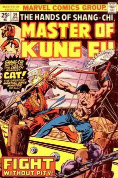 Master of Kung Fu # 39 by Gil Kane & Klaus Janson