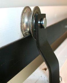 Sliding Barn Door Hardware Diy Ideas 22 New Ideas Bifold Barn Doors, Diy Sliding Barn Door, Sliding Doors, Garage Doors, Closet Doors, House Doors, The Doors, Wood Doors, Front Doors