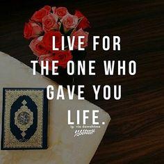 Ya Allah I live for you always!❤️