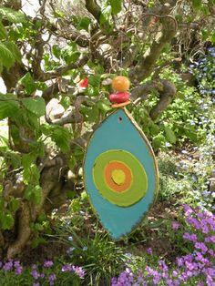 Windspiele - Keramik, Windspiel, Blickfang, Deko - ein Designerstück von Bodenseekeramik bei DaWanda