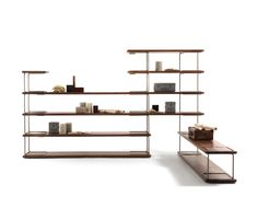 Shelving systems   Storage-Shelving   Tubular   Riva 1920. Check it out on Architonic