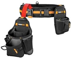 2. ToughBuilt - Handyman Tool Belt Set - 3 Piece Woodworking Projects Plans, Teds Woodworking, Electrician Tool Belt, Best Tool Belt, Carpenter Tool Belt, Occidental Leather, Tool Belt Pouch, Golf Bags, Product Launch