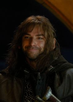 """""""The moment everyone fell in love with Kili..."""" - heh heh. That face is hilarious."""