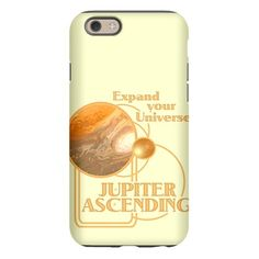 Jupiter Ascending #iPhone6 Case #JupiterAscending - Expand Your Universe - Movie Feb 6 lots of designs teams #JupiterJones -see all the products here - http://www.cafepress.com/dd/90334807