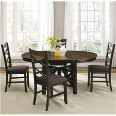 Shop For The Liberty Furniture Bistro Oval Pedestal Dining Table At Godby  Home Furnishings   Your Noblesville, Carmel, Avon, Indianapolis, Indiana  Furniture ...